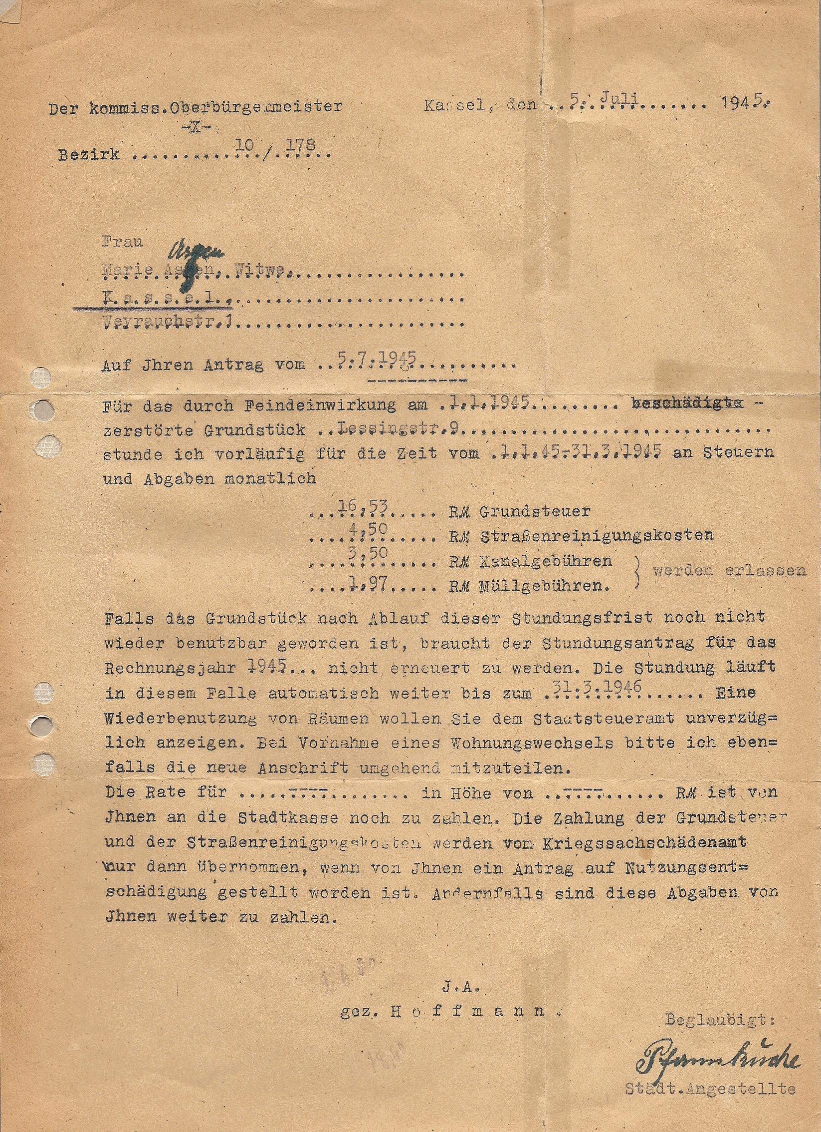 Feindeinwirkung1945