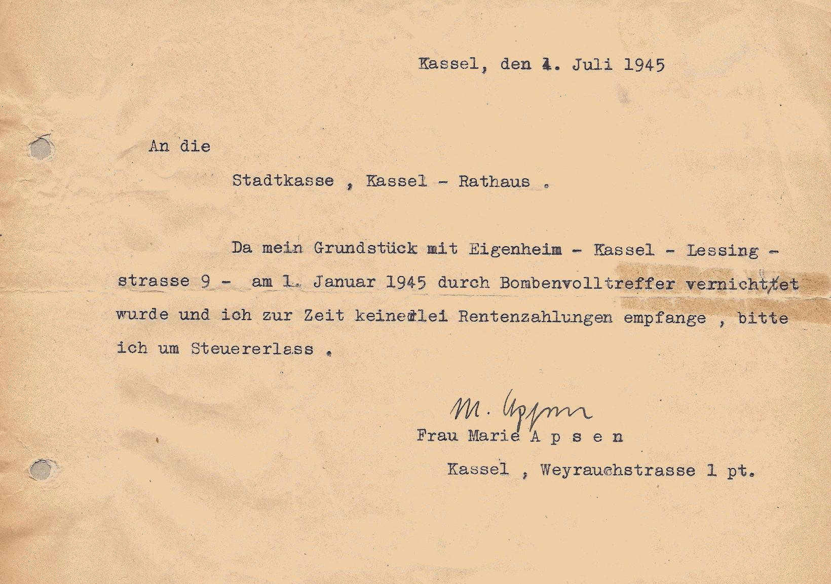 KeineRente1945